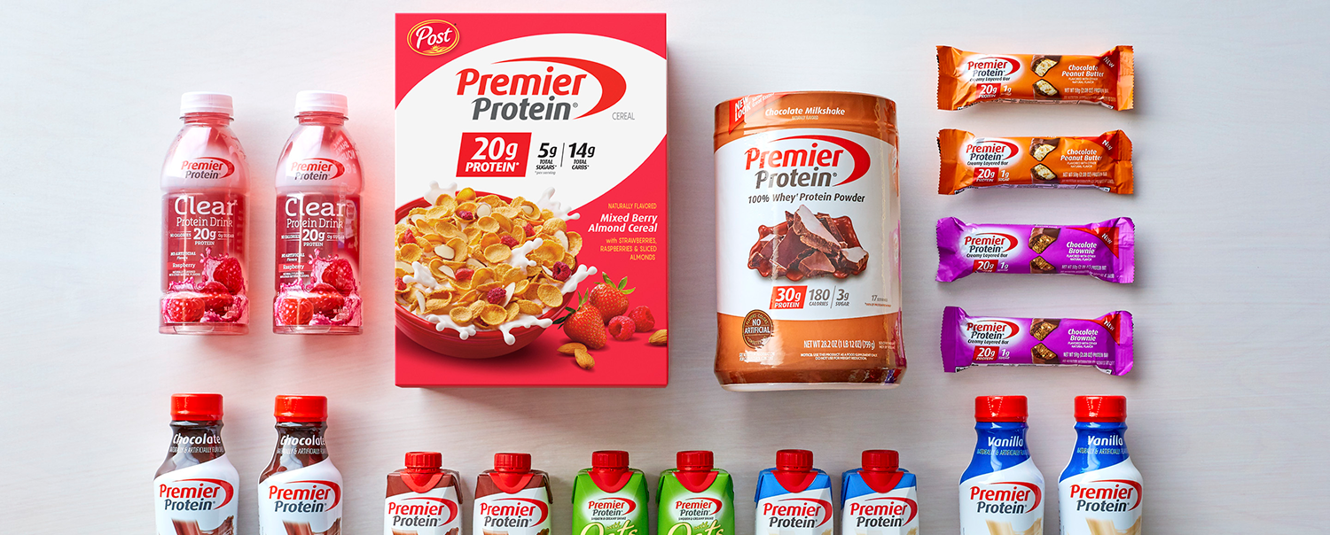 Premier Protein Cereal from Post Consumer Brands